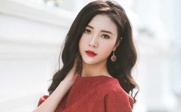 Hot girl 9X Vũ Ngọc Châm là cái tên được nhiều bạn trẻ Hà Thành biết đến