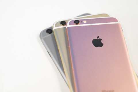 Đang có mức chênh lớn giữa các màu của bản iPhone 6S 64 GB tại Việt Nam. Ảnh: