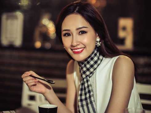 Tốt nghiệp Đại học Ngoại Thương, Mai Phương Thúy có nền tảng kiến thức khá vững chắc để tiến vào thương trường.