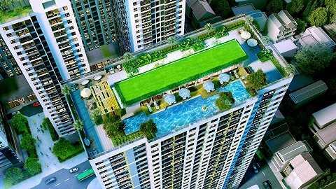 The Goldview cũng là một dự án nổi bật tại Hồ Chí Minh do TNR Holdings quản lý và phát triển độc quyền