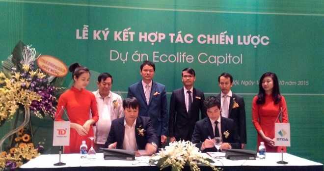 STDA phân phối độc quyền Dự án Ecolife Capitol