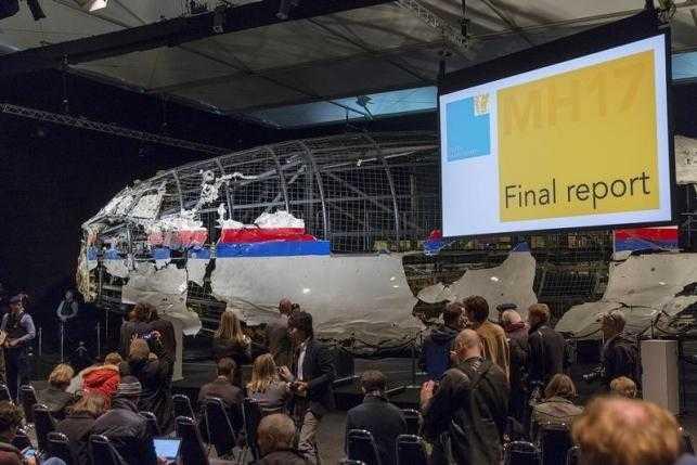 Chiếc MH17 được dựng lại tại Hà Lan để phục vụ công tác điều tra