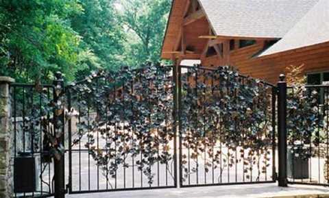 Chọn màu sắc, hình dáng và vật liệu làm cổng hợp mệnh cũng rất quan trọng khi bố trí cổng nhà theo phong thủy