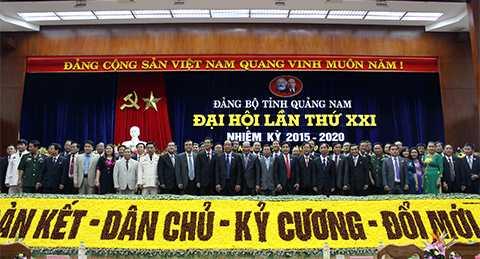 Chiều 14/10, Đại hội Đảng bộ tỉnh Quảng Nam lần thứ XXI nhiệm kỳ 2015-2020 đã chính thức bế mạc sau 3 ngày làm việc.