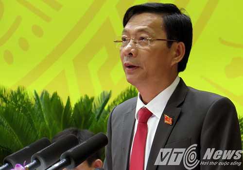 Ông Nguyễn Văn Đọc - Bí thư Tỉnh ủy Quảng Ninh khóa XIII tái đắc cử Bí thư Tỉnh ủy khóa XIV (Nhiệm kỳ 2015 - 2020) - Ảnh MK