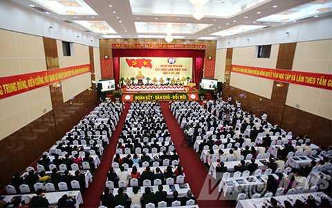 Sáng 15/10, Đại hội Đảng bộ TP Đà Nẵng lần thứ XXI đã khai mạc.
