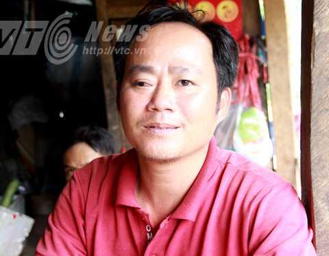 Anh Nguyễn Văn Tùng sống 10 năm ở Trà Linh, là ông trùm buôn sâm, nhưng cũng chưa được nhìn thấy vườn sâm của người Xê Đăng