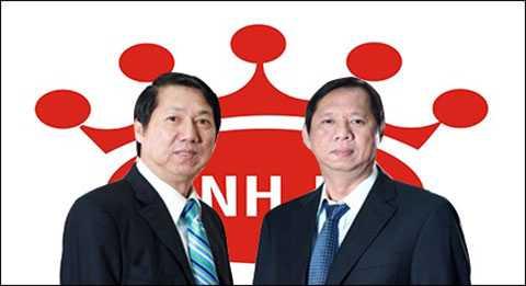 Hai anh em ông Trần Lệ Nguyên và Trần Kim Thành
