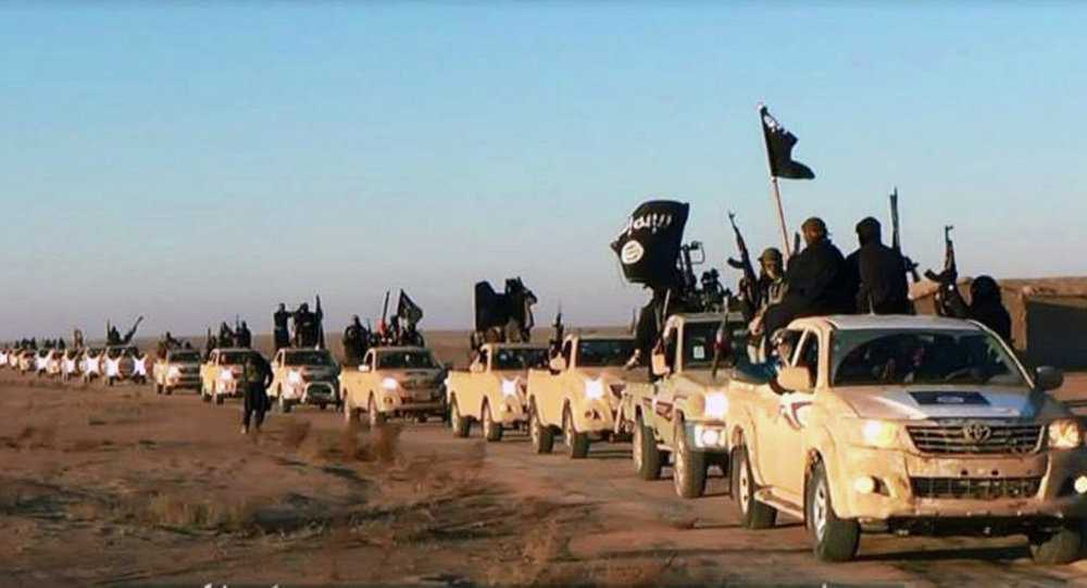 Các chiến binh IS sử dụng xe bán tải Toyota