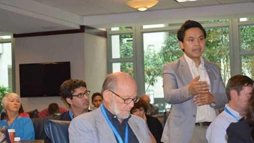 Phạm Nguyễn Đăng Trình đã lên tiếng phản đối hành động hạ đặt trái phép giàn khoan Hải Dương 981 của Trung Quốc tại vùng biển thuộc chủ quyền của Việt Nam.