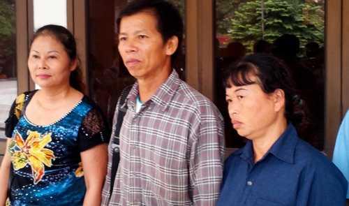 Ông Nguyễn Thanh Chấn trong một lần đến làm việc với TAND tối cao về vấn đề bồi thường án oan