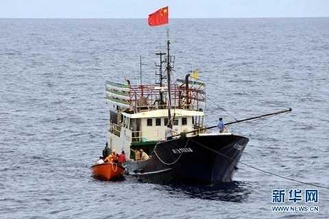Tàu đánh cá Trung Quốc