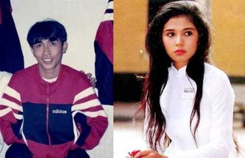 Minh Chiến - Việt Trinh là cặp đôi mở đầu cho mối quan hệ tình cảm giữa cầu thủ và giới showbiz tại Việt Nam