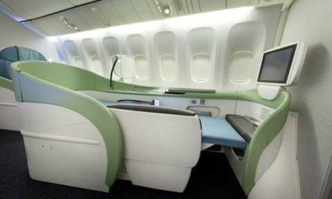 Khoang hạng nhất của Korean Air lại cung cấp cho hành khách khá nhiều lựa chọn chỗ ngồi.