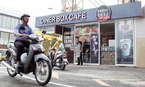 PhinDeli take away vận hành theo phương thức nhượng quyền thương mại. Ảnh: Brands Vietnam