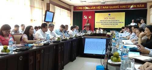 Bộ Y tế họp với các đơn vị liên quan triển khai quyết định 38