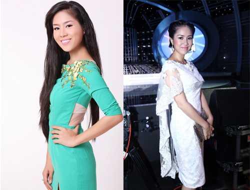 """Từ một cô gái quê, Lê Phương đã """"lột xác"""" thành một quý cô thành thị sang trọng và quyến rũ."""