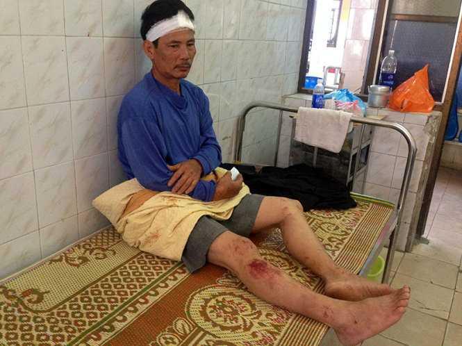 Ông Vinh đã tỉnh táo và có thể nói chuyện sau khi nhập viện
