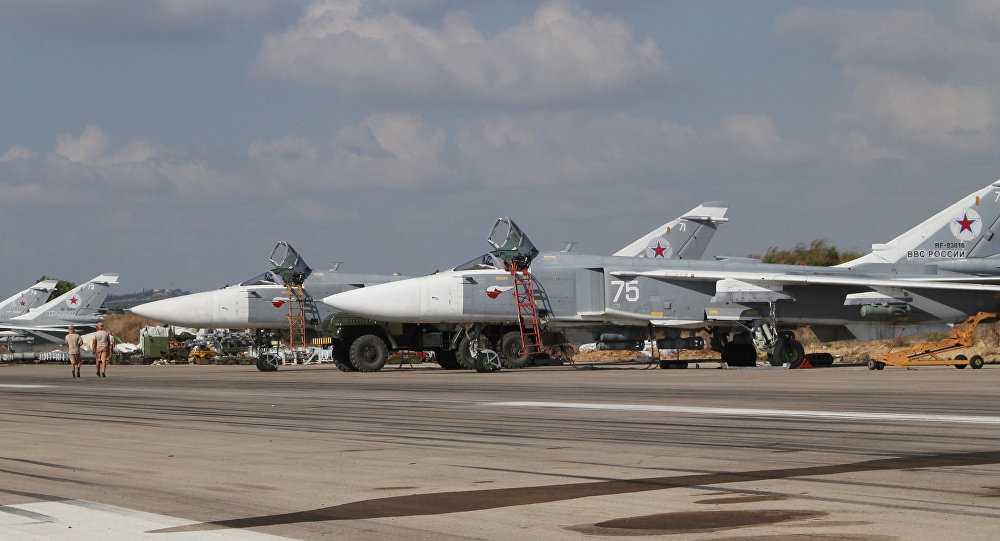 Chiến cơ Nga làm nhiệm vụ tại Syria