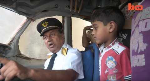 Nhiều trẻ em nghèo Ấn Độ được thỏa giấc mơ lên máy bay lần đầu tiên trong đời
