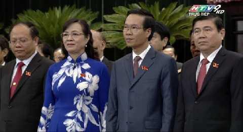 4 Phó bí thư Thành ủy TP.HCM khóa X