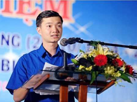 Ông Nguyễn Minh Triết, Ủy viên Ban Chấp hành Đảng bộ Bình Định, được coi là tỉnh ủy viên trẻ nhất nước khi mới 25 tuổi