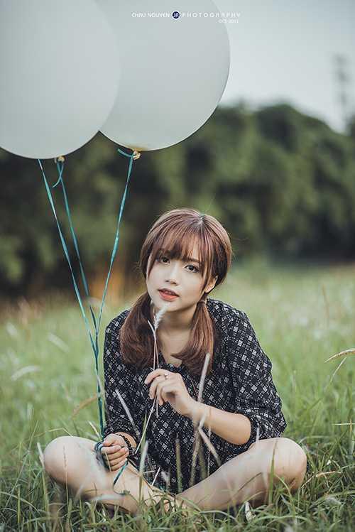 Nữ sinh xinh đẹp Nguyễn Mai Trang hiện đang học trường THPT Đống Đa - Hà Nội.