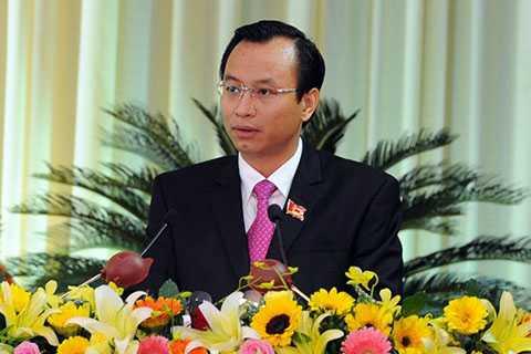 Tân Bí thư Thành ủy Đà Nẵng Nguyễn Xuân Anh đã có bài phát đầy tâm huyết.