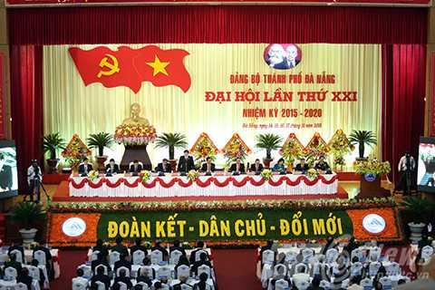 Đại hội Đảng bộ TP Đà Nẵng lần thứ XXI diễn ra thành công tốt đẹp sau 3 ngày làm việc.
