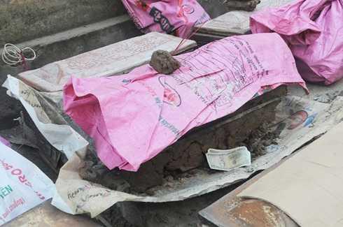 Số hài cốt được phát hiện trước cổng trường ĐH Công Đoàn