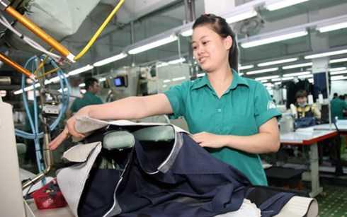 Ngành dệt may Việt Nam được đánh giá là có nhiều thuận lợi khi vào TPP (Ảnh minh họa:KT)