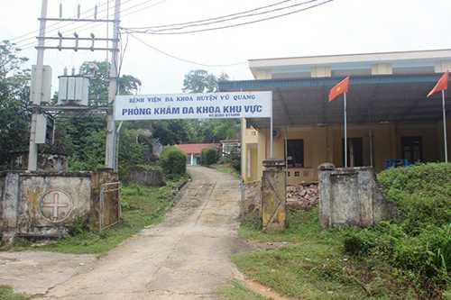 Từ nhiều năm nay, tại Phòng khám đa khoa khu vực (xã Đức Lĩnh, huyện Vũ Quang) đã tồn tại những mâu thuẫn nội bộ nhưng không được giải quyết dứt điểm.