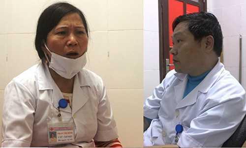 Vợ chồng bác sĩ Tình, điều dưỡng Bình cho rằng, các nhân viên trong phòng khám