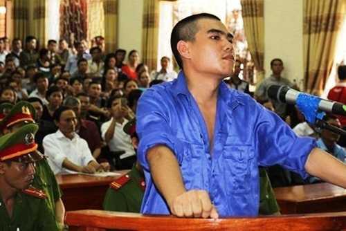Vi Văn Hai bình thản khi nghe tòa tuyên tử hình