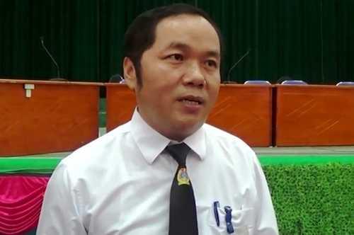 Ông Sơn - Phó Chánh án TAND tỉnh Nghệ An chia sẻ về bản án mình vừa tuyên sau khi kết thúc phiên tòa sơ thẩm