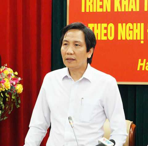Thứ trưởng Trần Anh Tuấn