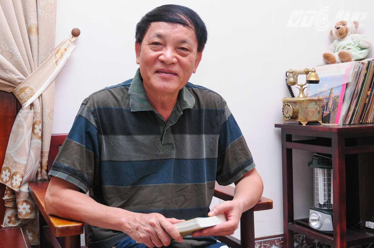 Ông Nguyễn Đăng Phát, Tổng biên tập Tạp chí Bạch Dương - Ảnh: Tùng Đinh