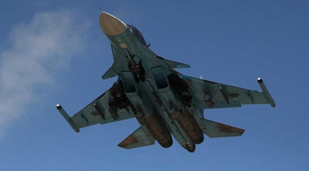 Một chiếc Su-34 của Nga tham gia không kích IS tại Syria