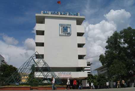Đại học Xây dựng nơi xảy ra vụ việc