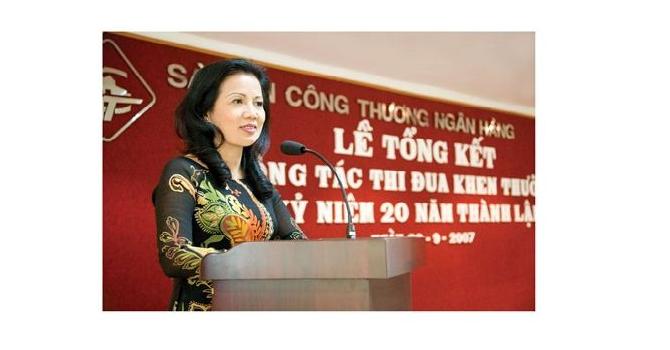 Trần Thị Việt Ánh, Tổng giám đốc ngân hàng Sài Gòn Công thương (Saigonbank)
