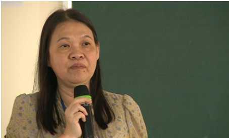 PGS.TS Châu Ngọc Hoa – Phó Hiệu trưởng Trường Đại học Y Dược TP.HCM