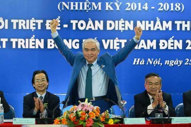 Lê Hùng Dũng giành ghế chủ tịch VFF