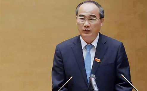 Ông Nguyễn Thiện Nhân, Chủ tịch Ủy ban Trung ương Mặt trận Tổ quốc Việt Nam