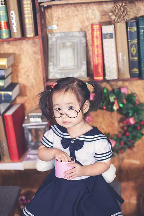 Cận cảnh cô con gái thứ hai của Lý Hải. Cherry sở hữu nhiều nét đẹp của giọng ca