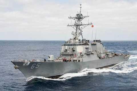 Chiến hạm USS Benfold của Mỹ
