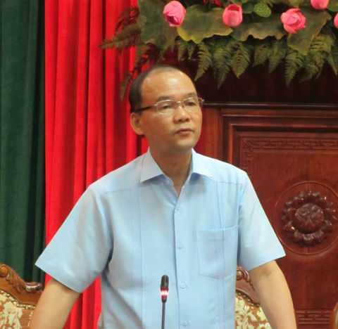 Ông Phan Chu Đức - Phó trưởng ban Tổ chức Thành ủy Hà Nội.