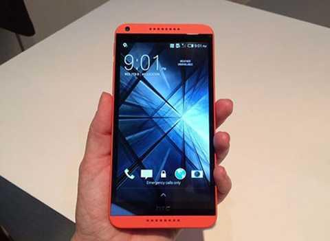 HTC Desire 816 màu hồng