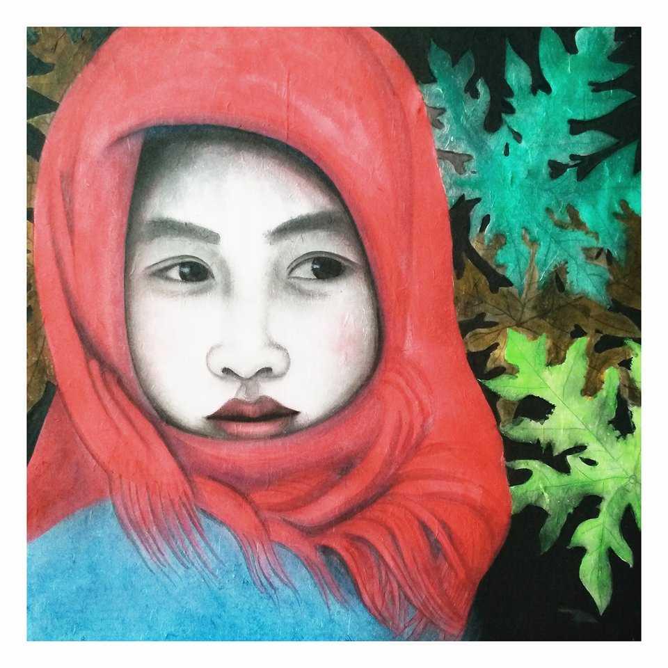 Tranh của họa sĩ Lương Ánh Hiện
