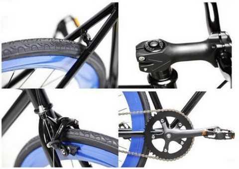 Topbike Fix fix được làm từ hợp kim nhôm đảm bảo an toàn cho người chơi xe