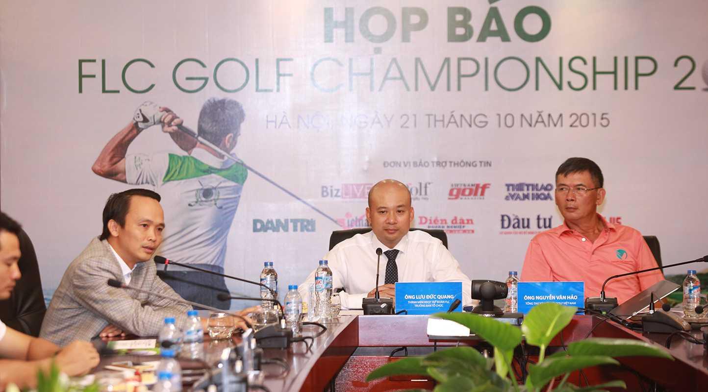 600 Golf thủ sẽ tham dự FLC Golf Championship